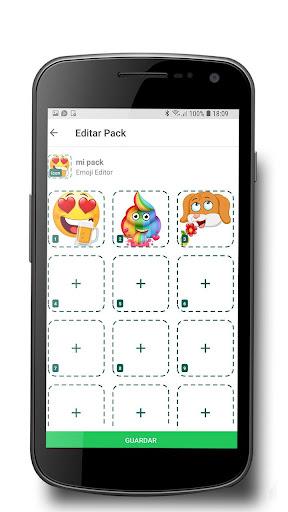 Emoji editor sticker screenshot 2