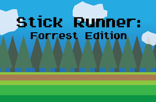 Stick Runner: Forest Edition