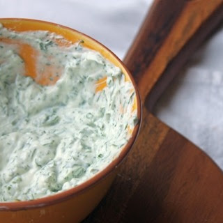 Cilantro Yogurt Crema Recipe