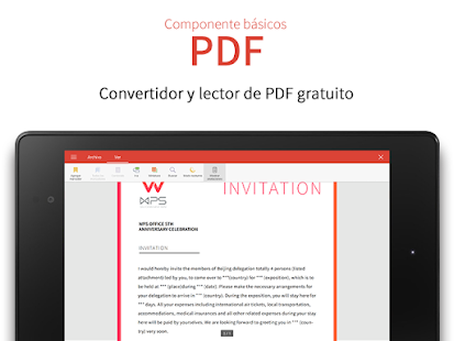 WPS Office - Free Office Suite for Word,PDF,Excel Screenshot