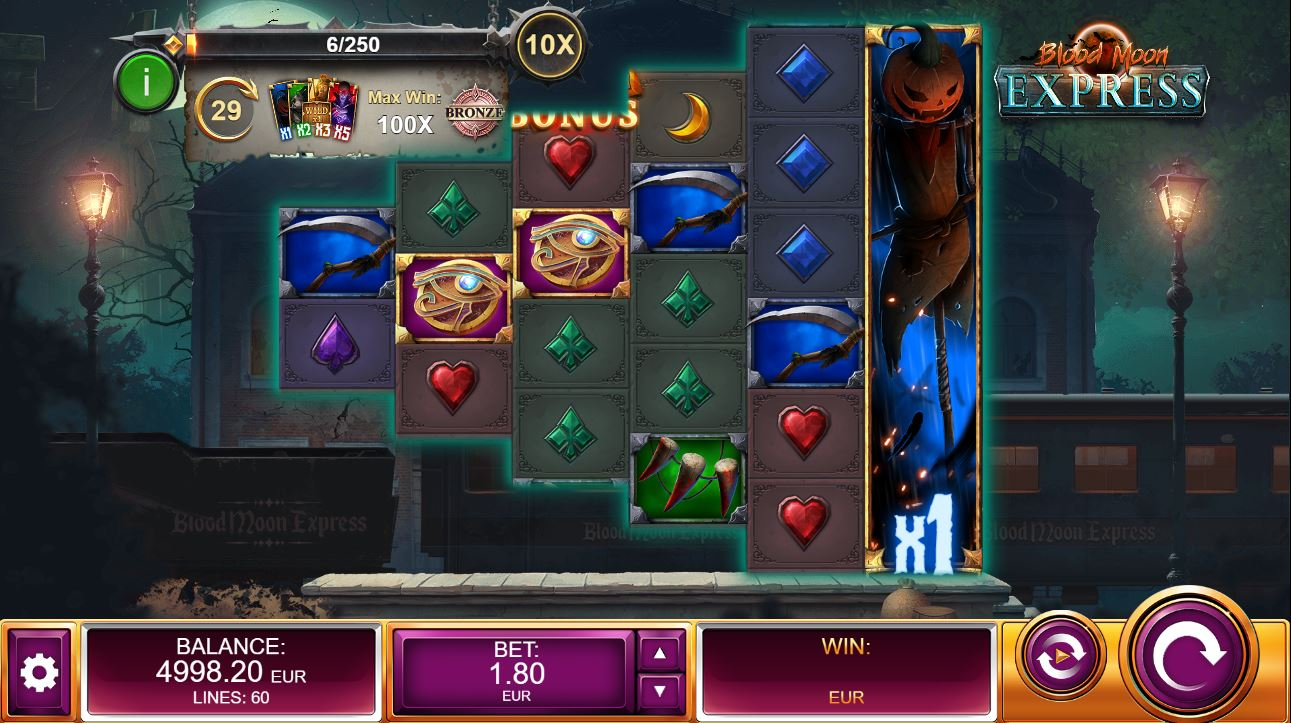 Play Blood Moon Express by Kalamba for Real Money at Scatters Casino