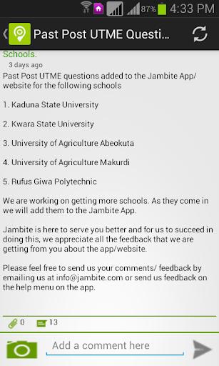 Jambite: Free JAMB & WAEC Past Questions Prep 0.0.136 screenshots 14