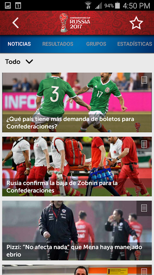 Telemundo Deportes- screenshot