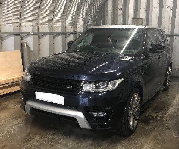 Drug dealer arrested after being found in stolen Range Rover