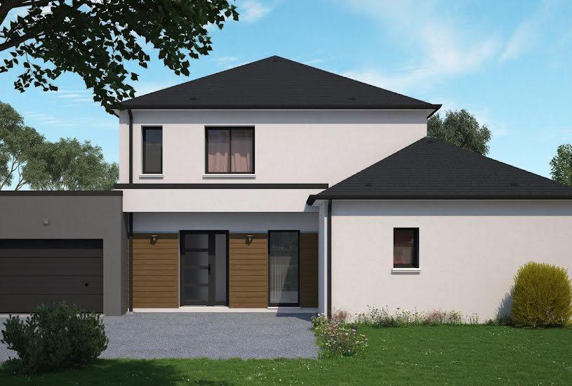 Vente Terrain + Maison - Terrain : 826m² - Maison : 148m² à Semblançay (37360)