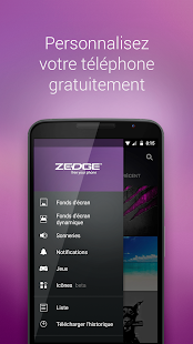 ZEDGE™ Sonneries, Fonds d'Ecran Capture d'écran