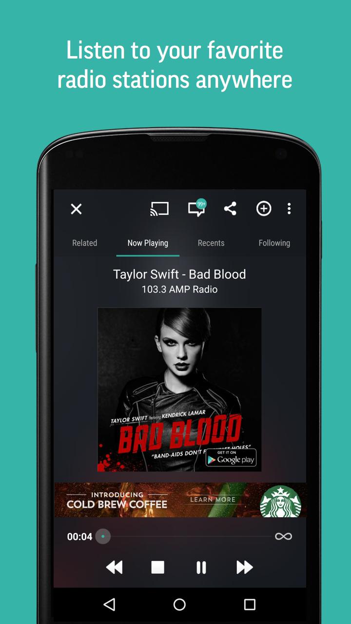 TuneIn Radio - Radio & Music screenshot #2