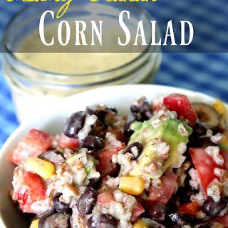 Creamy Italian Corn Salad
