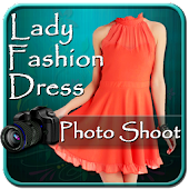 Lady Fashion Dress Photo Shoot