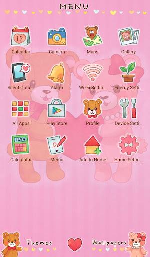 Teddy Bear Couple Love Theme 1.0.0 Windows u7528 2