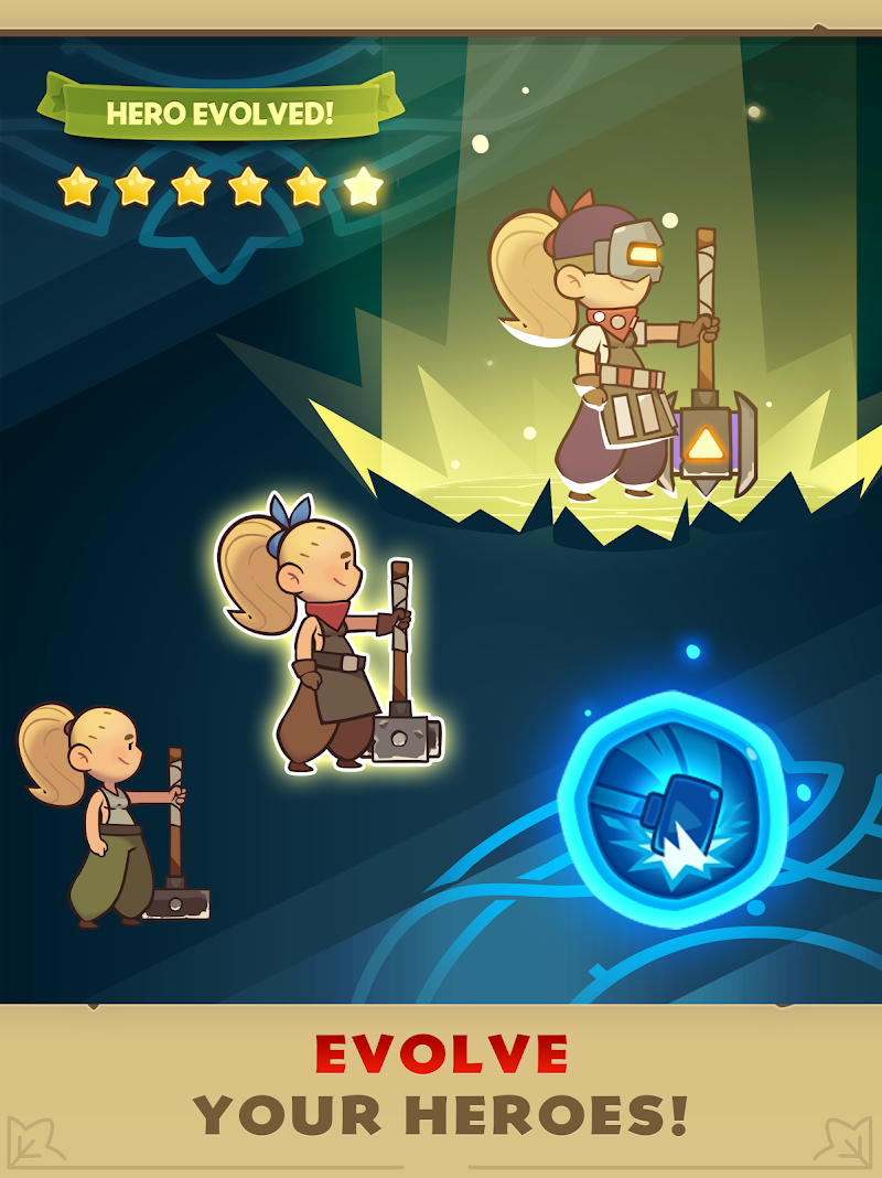 Almost a Hero - RPG Clicker Game with Upgrades Screenshot 9
