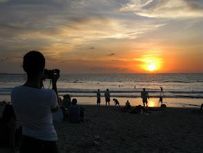 Photo: Kuta beach.