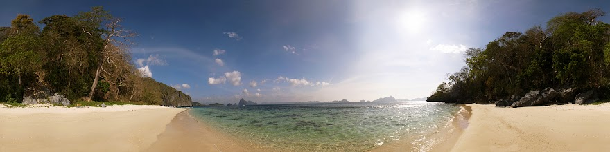 Photo: Philippines, Palawan, El Nido, 7 Commando beach