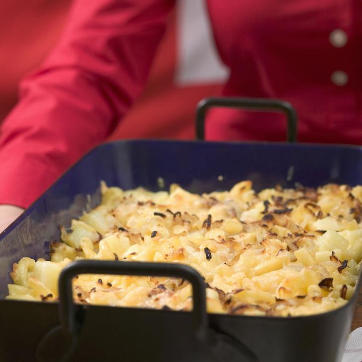 Chicken and Ham Pasta Bake Recipe