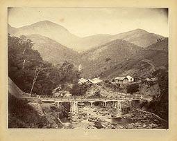 Photo: Ponte do Cascatinha. Foto de 1873