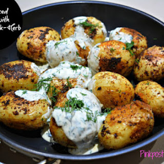 Cajun Potatoes with Buttermilk Dressing