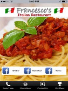 Francescos Restaurants- screenshot thumbnail