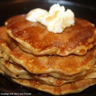 Sweet Potato Buttermilk Pancakes.