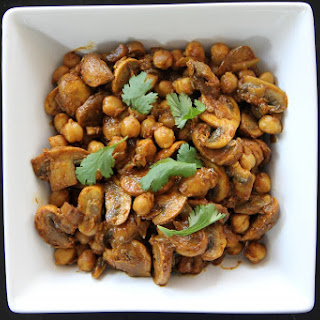 Mushroom Tomato Curry Indian Recipes