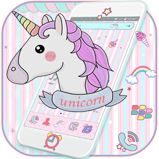 Unicorn Dream Theme file APK for Gaming PC/PS3/PS4 Smart TV