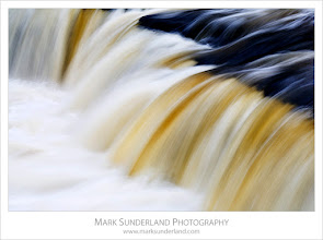 Photo: #WaterfallWednesday  Aysgarth Impression  I posted 'Aysgarth Impression II' a while back so I thought I'd better post the original version for #WaterfallWednesday (curated by +Eric Leslie), taken at the Upper Falls after heavy rains...  Canon EOS 5D, EF70-200mm f/4L USM at 122mm, ISO 50, 1/4s at f22