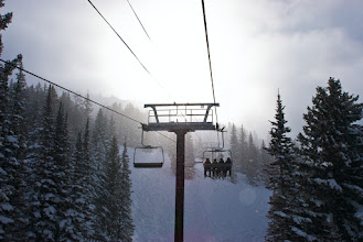 Photo: White out on Collins lift
