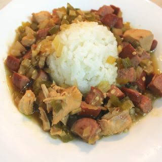 Crockpot Chicken and Sausage Gumbo Recipe