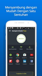 Free VPN Proxy Hotspot Shield- gambar mini screenshot