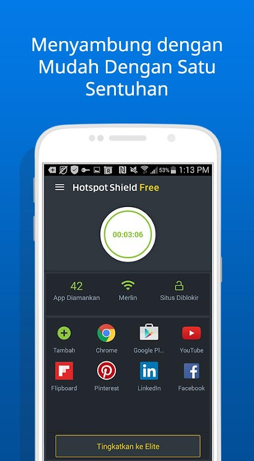 Free VPN Proxy Hotspot Shield- screenshot