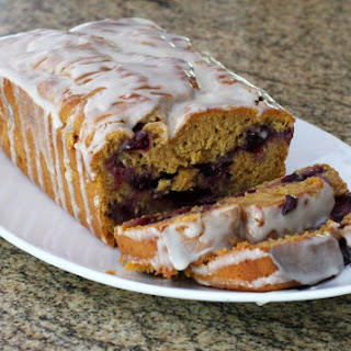 Blueberry Sweet Potato Bread.