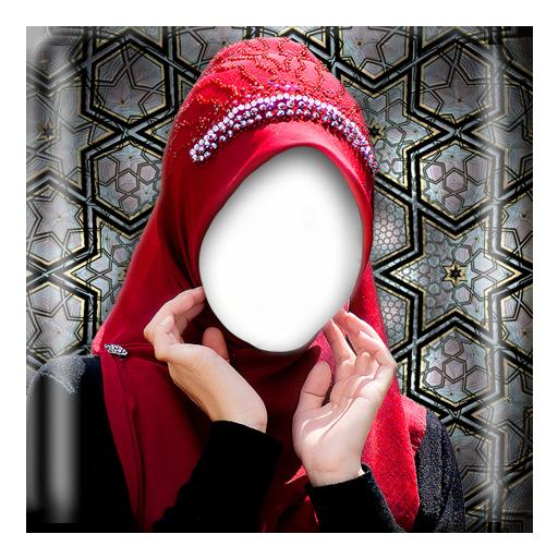 盖头的女人的自拍照片编辑器 攝影 LOGO-玩APPs