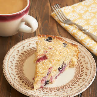 Berry Muffin Cake.