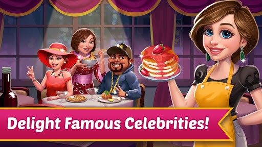 Code Triche Celeb Chef: Serving The Celebrity mod apk screenshots 1