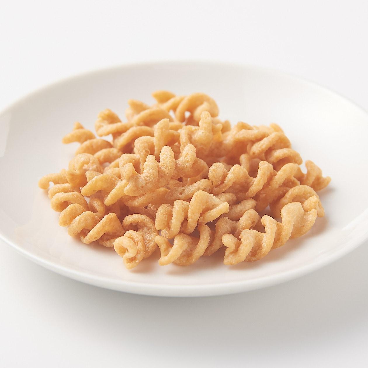 無印良品 糖質10g以下のお菓子 パスタスナック チーズ味