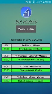 VIP Bet Helper Screenshot