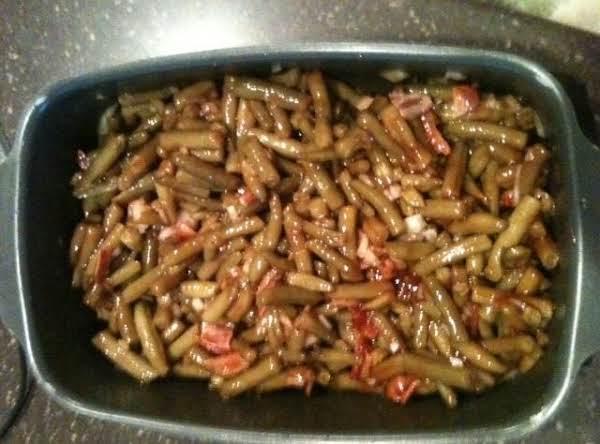 Bar-b-qued Green Beans