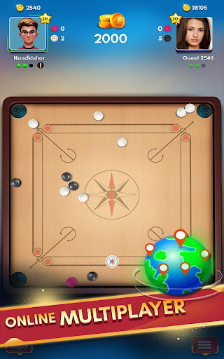Carrom Kingu2122 - Best Online Carrom Board Pool Game 2.9.0.55 screenshots 10