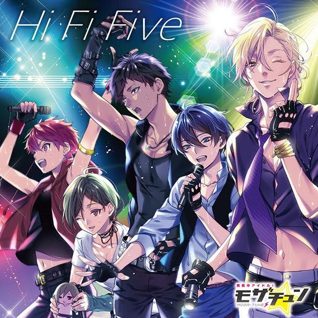 真夜中アイドル!モザチュン Hi Fi Five