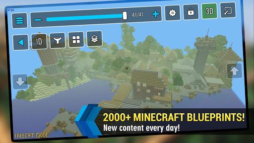 MCProApp build companion, blueprints for Minecraft 2.1.0 screenshots 1