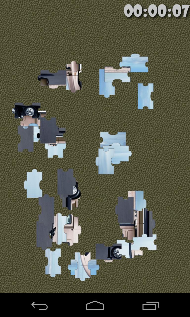 Скриншот Грузовики головоломка