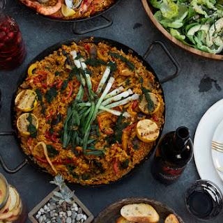 Vegetarian Paella Recipe