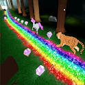 Unicorn Dash Jungle Run 3D icon