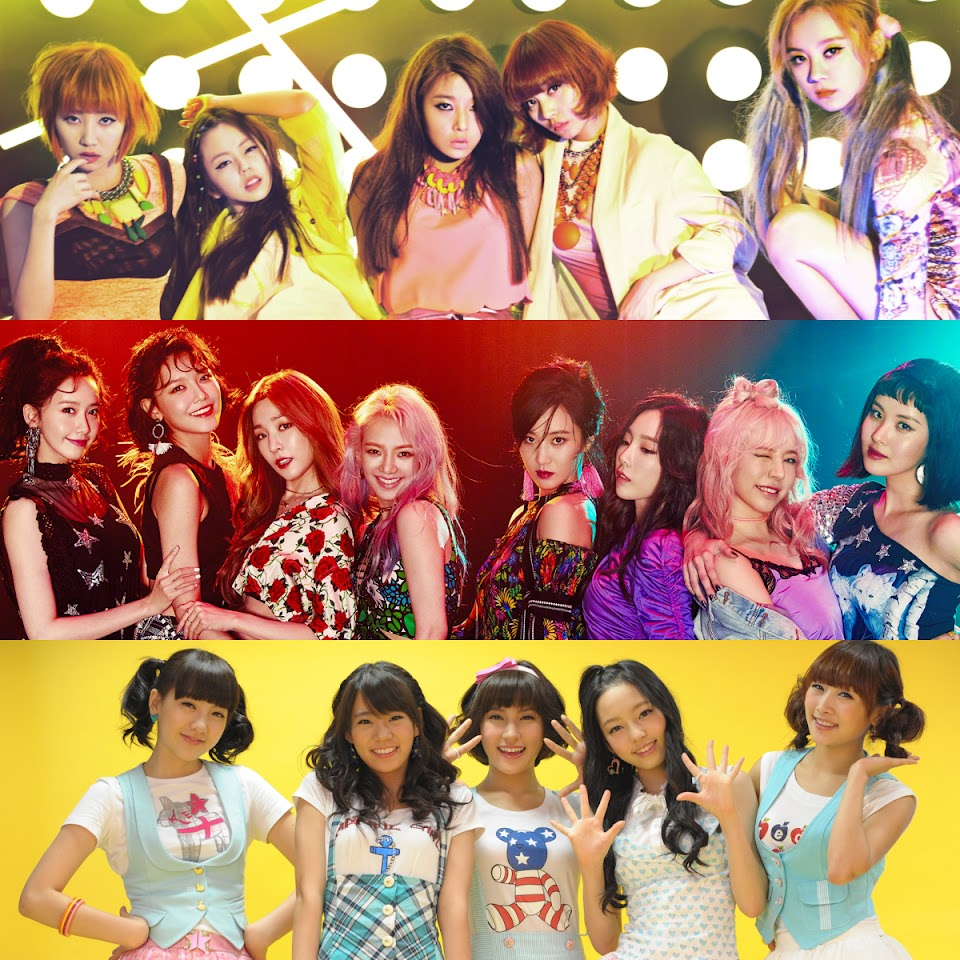 2nd gen kpop girl groups