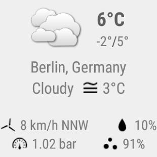 Transparent clock & weather Screenshot 29