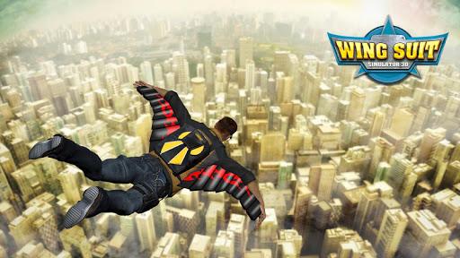 Wingsuit Simulator 3D - Skydiving Game  gameplay | by HackJr.Pw 15