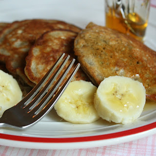 Banana Buckwheat Pancakes . . . with Wildflower Honey
