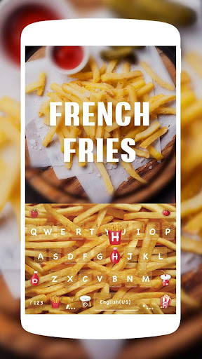 FrenchFries Kika KeyboardTheme