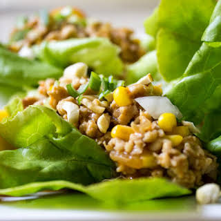 Chicken Lettuce Wraps (PF Chang-ish).