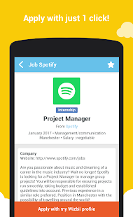 Wizbii - Jobs & Internships- screenshot thumbnail