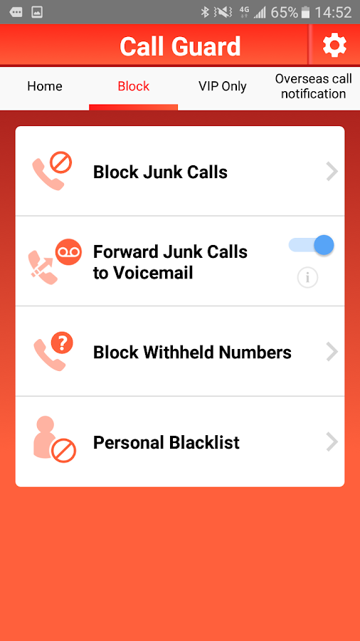 Call Guard- screenshot